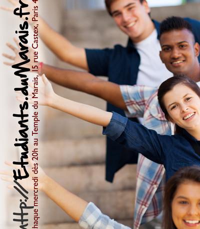 Affiche groupe étudiants 2013