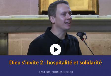 Dieu s'invite 2 : hospitalité et solidarité