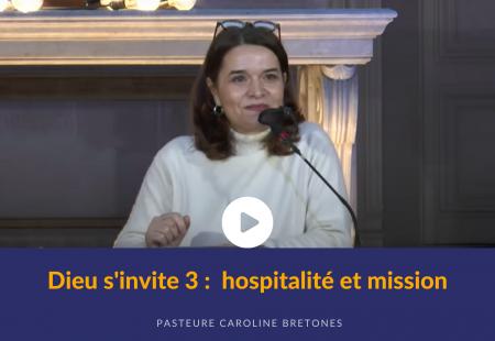 Dieu s'invite (3) : hospitalité et mission
