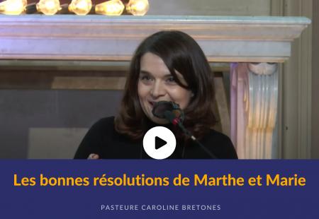 Les bonnes résolutions de Marthe et Marie